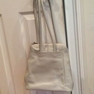 Clark's bone leather backpack, gently used